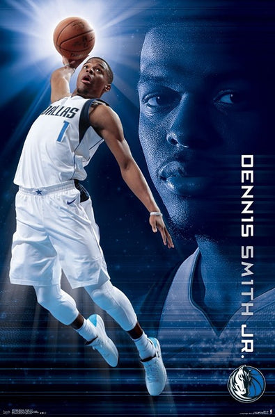 "Dennis Smith Jr. ""Soaring"" Dallas Mavericks NBA Action Wall Poster - Trends International 2018"