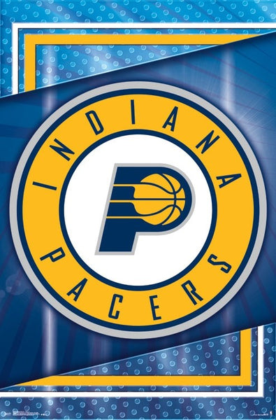 Indiana Pacers NBA Basketball Official Team Logo Poster - Trends 2017