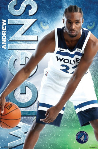 "Andrew Wiggins ""One-on-One"" Minnesota Timberwolves Official NBA Basketball Poster - Trends International"