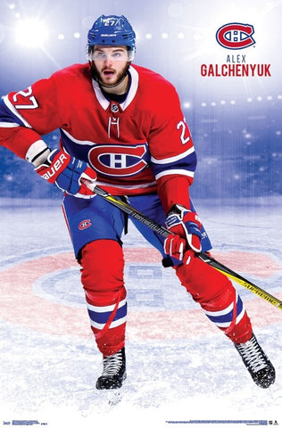 "Alex Galchenyuk ""Sniper"" Montreal Canadiens NHL Action Poster - Trends International"