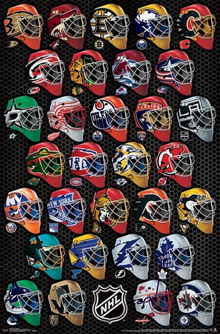 The NHL Hockey Universe All 31 Team Logos Official Poster - Trends International 2018