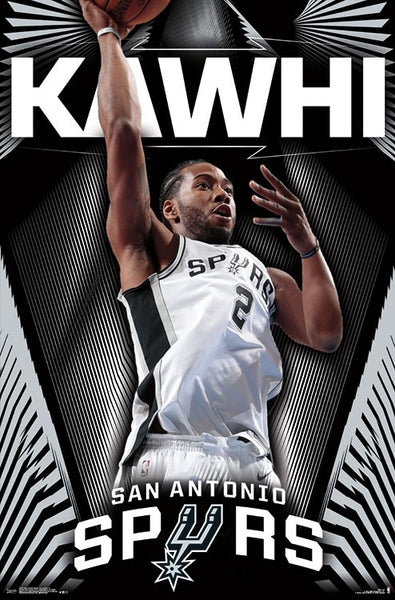 "Kawhi Leonard ""Super Spur"" San Antonio Spurs Official NBA Wall POSTER - Trends International"