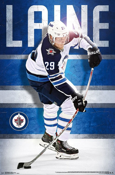 "Patrick Laine ""Gunner"" Winnipeg Jets Official NHL Hockey Poster - Trends International 2018"