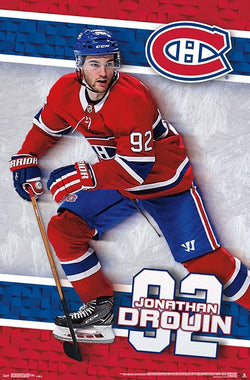 "Jonathan Drouin ""Dynamo"" Montreal Canadiens NHL Action Poster - Trends International"