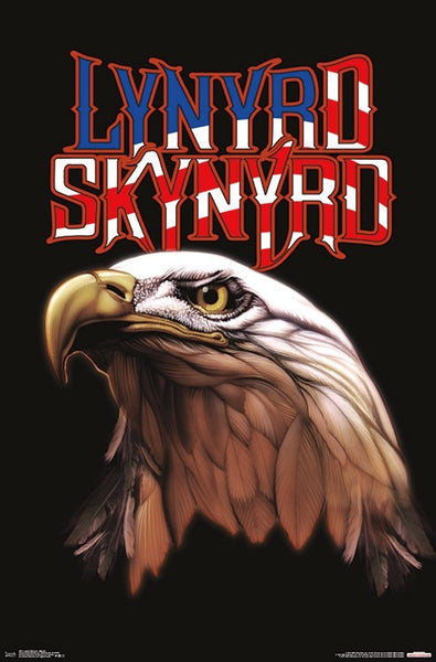 "Lynyrd Skynyrd ""American Legends"" Rock Band Official Logo Poster - Trends International"