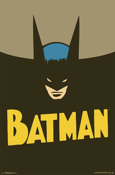 Batman Vintage 1940s Style Comic Book Character Wall Poster - Trends International