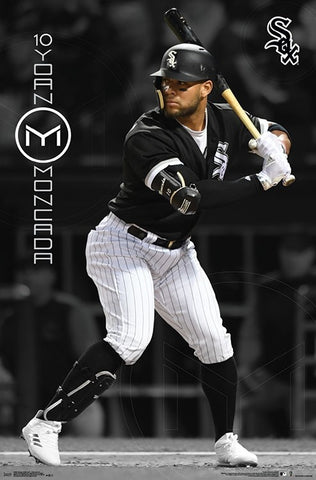 "Yoan Moncada ""Superstar"" Chicago White Sox MLB Baseball Poster - Trends International"