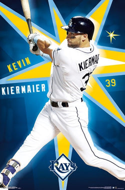 "Kevin Kiermaier ""Superstar"" Tampa Bay Rays MLB Baseball Poster - Trends International"