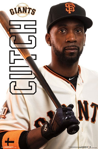 "Andrew McCutchen ""Cutch"" San Francisco Giants Official MLB Baseball Action Poster - Trends Int'l."