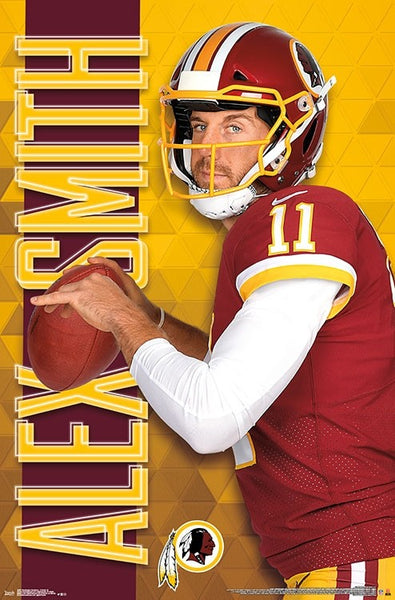 "Alex Smith ""Superstar"" Washington Redskins NFL Action Wall Poster - Trends International"