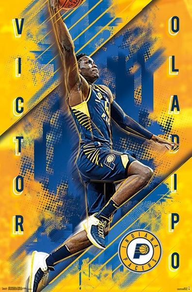 "Victor Oladipo ""Pacers Sensation"" Indiana Pacers NBA Basketball Action Poster - Trends 2018"