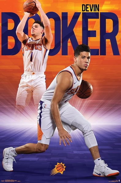 "Devin Booker ""Superstar"" Phoenix Suns Official NBA Basketball Action Poster - Trends International"