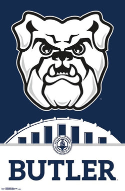 Butler University Bulldogs Official NCAA Team Logo Poster - Trends International