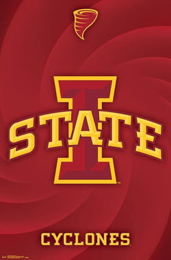 Iowa State Cyclones Official NCAA Sports Team Logo Poster - Trends International