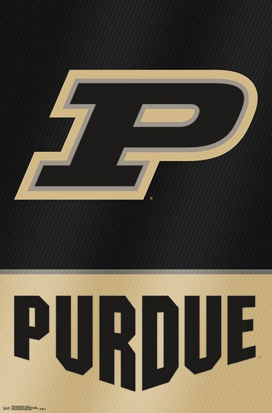 Purdue Boilermakers Official NCAA Sports Team Logo Poster - Trends International
