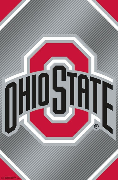 Ohio State Buckeyes Official NCAA Team Logo Poster - Trends International