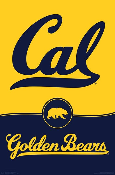University of California Berkeley Cal Bears Official NCAA Team Logo Poster - Trends 2018