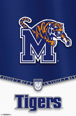 University of Memphis Tigers Official NCAA Team Logo Poster - Trends International 2018