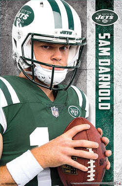 "Sam Darnold ""Superstar"" New York Jets QB NFL Action NFL Poster - Trends 2018"