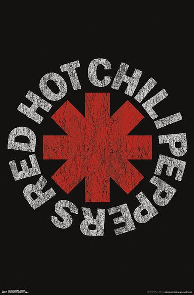 ab465945 Red Hot Chili Peppers Classic Band Logo Poster - Trends International