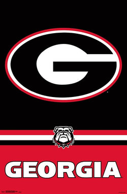 University of Georgia Bulldogs Official NCAA Team Logo Poster - Trends International