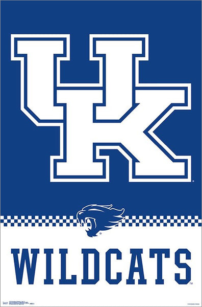 University of Kentucky Wildcats Official NCAA Team Logo Poster - Trends International