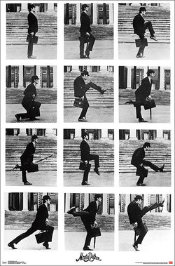 Monty Python's Ministry of Silly Walks (John Cleese) Classic Comedy Sketch Poster - Trends International