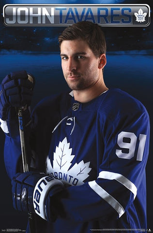 "John Tavares ""Superstar"" Toronto Maple Leafs Official NHL Wall POSTER - Trends 2018"