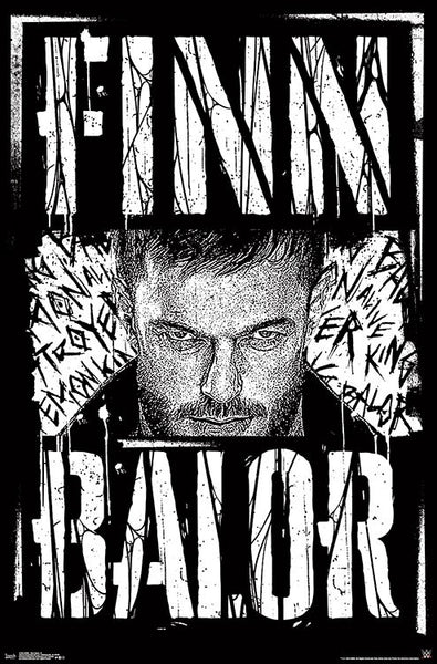 "Finn Balor ""Superstar"" WWE Wrestling Poster - Trends International"