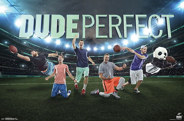"Dude Perfect ""Stadium Superstars"" YouTube Legends Wall Poster - Trends International"