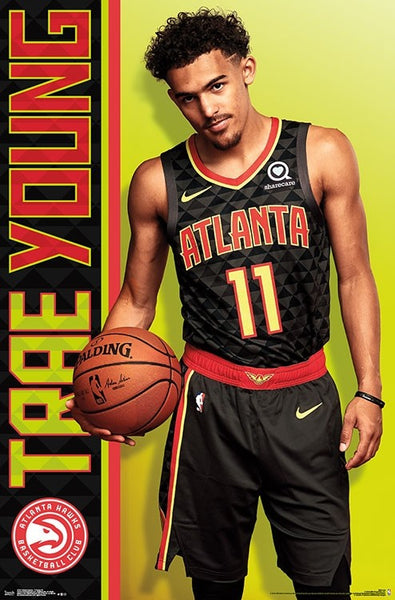 "Trae Young ""Arrival"" Atlanta Hawks NBA Basketball Poster - Trends International 2018"