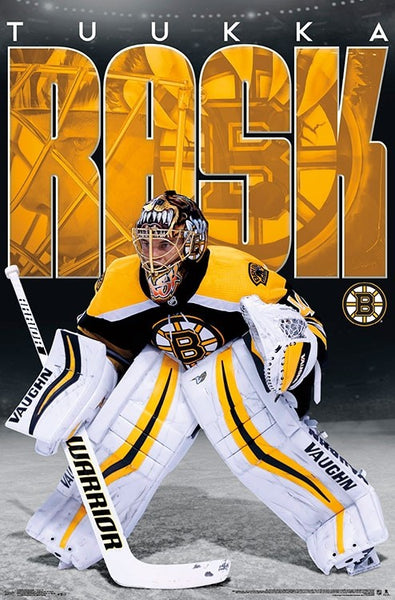 "Tuukka Rask ""Intensity"" Boston Bruins NHL Hockey Goalie Poster - Trends International"