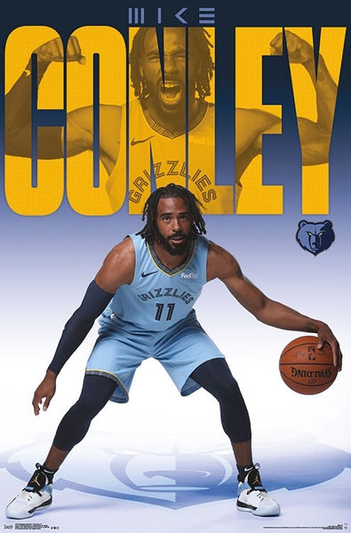 "Mike Conley ""Point Guard Beast"" Memphis Grizzlies NBA Basketball Action Poster - Trends International"