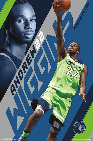 "Andrew Wiggins ""Amazing"" Minnesota Timberwolves Official NBA Basketball Poster - Trends International 2018"