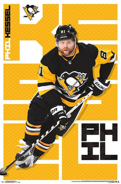 "Phil Kessel ""Dynamo"" Pittsburgh Penguins Official NHL Hockey Action Poster - Trends 2018"