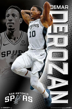 "DeMar DeRozan ""Super Spur"" San Antonio Spurs Official NBA Wall POSTER - Trends International"