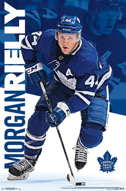 "Morgan Rielly ""Action"" Toronto Maple Leafs Defenseman NHL Hockey POSTER - Trends International"