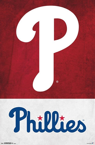 Philadelphia Phillies Official MLB Baseball Team Logo Poster - Trends International