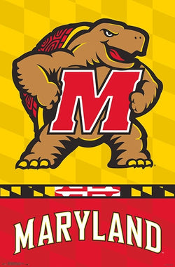 University of Maryland Terrapins Official NCAA Team Logo Poster - Trends International
