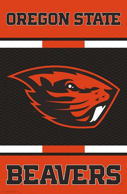 Oregon State Beavers Official NCAA Team Sports Logo Poster - Trends International