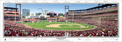 St. Louis Cardinals New Busch Stadium Inaugural Game (w/22 Sigs) Panoramic Poster - Everlasting 2006