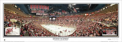 Detroit Red Wings Stanley Cup 2008 Champs Commemorative Panoramic Poster Print - Everlasting Images