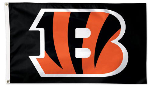 Cincinnati Bengals Official NFL Football Deluxe-Edition 3' x 5' Team Flag - Wincraft Inc.