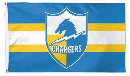 Los Angeles San Diego Chargers AFL Throwback 1961-73 Style 3'x5' Flag - Wincraft Inc.