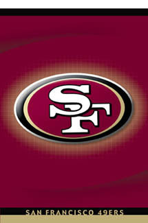 San Francisco 49ers Official Team Logo Poster - Costacos 2004