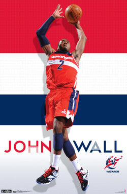 "John Wall ""Wizardry"" Washington Wizards Poster - Trends International"