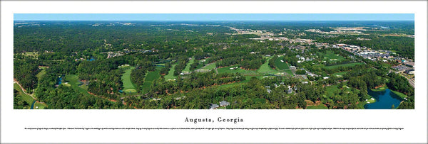 Augusta National Golf Club (Augusta, GA) Aerial Panorama - Blakeway 2012