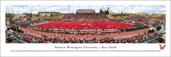Eastern Washington University Eagles Roos Stadium Gameday Pamoramic Poster