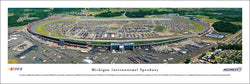 Michigan International Speedway NASCAR Race Day Panoramic Poster- Blakeway