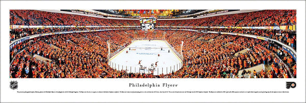Philadelphia Flyers 2012 NHL Playoffs Panoramic Poster Print - Blakeway